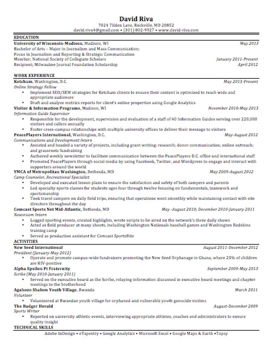 postgrad resume image